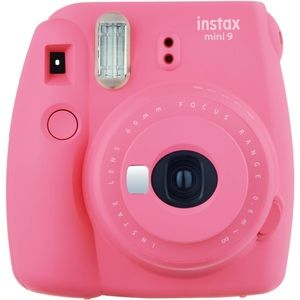 Instax Mini 9 in Pink with carrying case